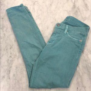 Hudson Sean foam skinny jeans, lots of stretch!